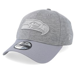 aaad6db7 Seattle Seahawks Essential Jersey 39Thirty Heather Grey/Grey Flexfit - New  Era