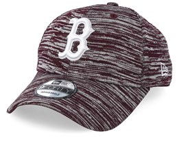 Boston Red Sox Engineered Fit 9Forty Heather Maroon/White Adjustable - New Era