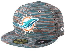 9eed283c Miami Dolphins Engineered Fit 59Fifty Multi Fitted - New Era