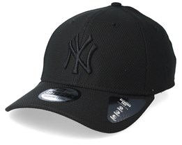 5b2dfa5ad6e New York Yankees Diamond Era 39Thirty Black Flexfit - New Era