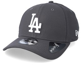 Los Angeles Dodgers Diamond Era 39Thirty Grey Flexfit - New Era