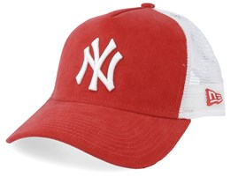 New York Yankees Cord Brights Coral/White Trucker - New Era