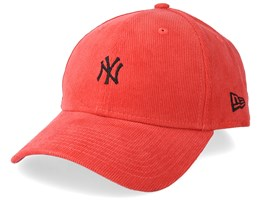 New York Yankees Cord Brights 9Forty Coral/Black Adjustable - New Era