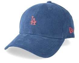 Los Angeles Dodgers Cord Brights 9Forty Slate/Coral Adjustable - New Era