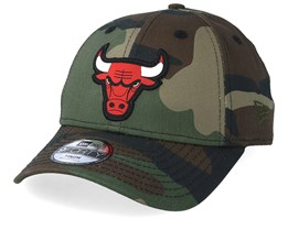 Kids Chicago Bulls Character 9Forty Camo Adjustable - New Era