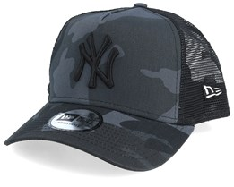 New York Yankees Essential Black Camo Trucker - New Era