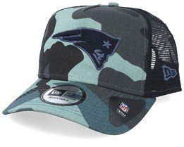 New England Patriots Essential Light Camo Trucker - New Era