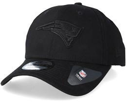 New England Patriots 9Forty Black/Black Adjustable - New Era