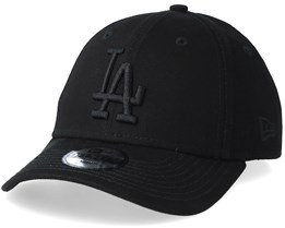 Kids Los Angeles Dodgers 9Forty Black Black Adjustable - New Era 5a89f7a75b