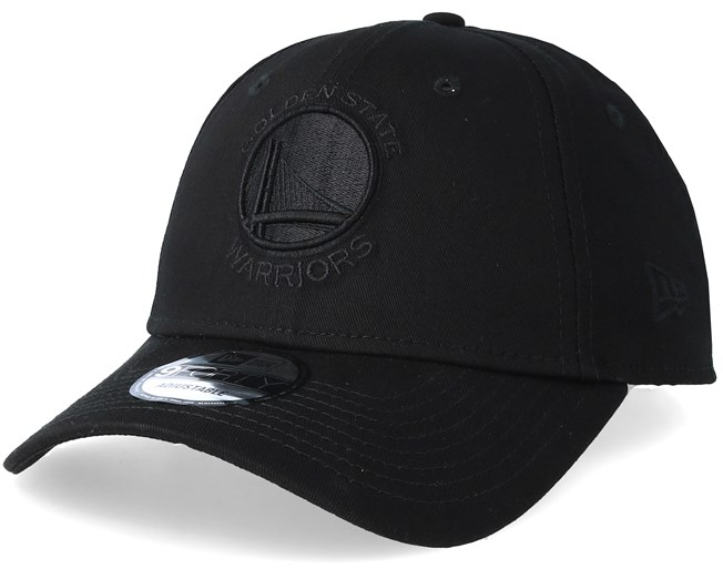 Golden State Warriors 9Forty Black/Black Adjustable - New Era