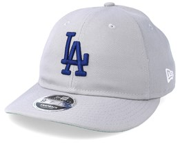 Los Angeles Dodgers 9Fifty Retro Crown Grey/Navy Snapback - New Era