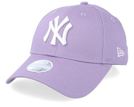 New York Yankees Women Seasonal 9Forty Light Purple/White Adjustable - New Era