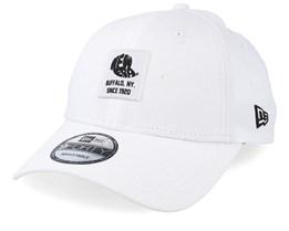 Ne Patch 9Forty White/Black Adjustable - New Era