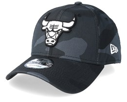 Chicago Bulls Camo Essential 9Forty Black Camo Adjustable - New Era