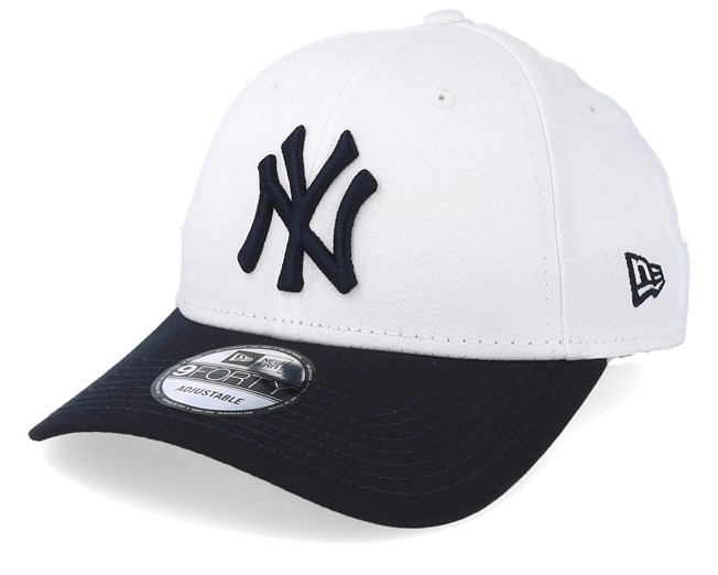 New York Yankees Top Essential White Navy Adjustable - New Era caps ... 18c295e6f