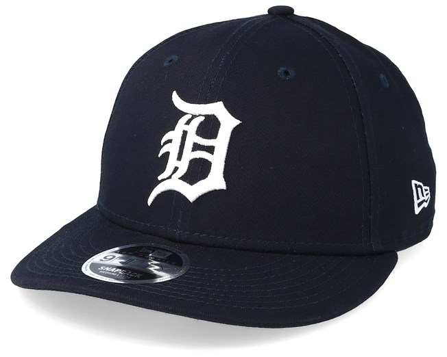 cheap for discount 36700 24c69 Detroit Tigers Essential Low Profile 9Fifty Navy White Snapback - New Era  caps - Hatstoreworld.com