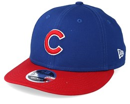 7b26b653fb9 Chicago Cubs Essential Low Profile 9Fifty Royal Red Snapback - New Era