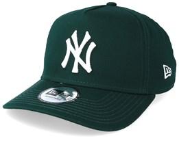 New York Yankees A-Frame Dark Green/White Adjustable - New Era