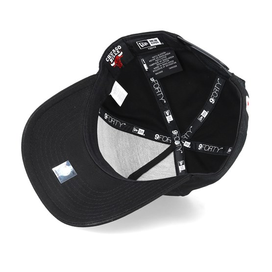 f3fcaf54 Kids Chicago Bulls Essential A-Frame Black/Red Adjustable - New Era caps |  Hatstore.co.uk