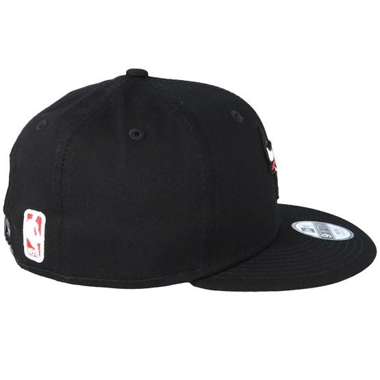 f98ff885415 Kids Chicago Bulls Essential 9Fifty Black Red Snapback - New Era caps