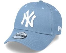 Kids New York Yankees 9Forty Slate/White Adjustable - New Era
