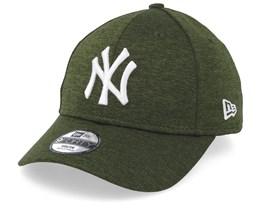 Kids New York Yankees Shadow Tech 9Forty Dark Green/White Adjustable - New Era