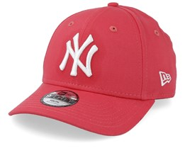 Kids New York Yankees Seasonal 9Forty Dark Pink/White Adjustable - New Era