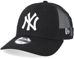 661c020e7fbbc Kids New York Yankees 9Forty Mesh Black White Trucker - New Era