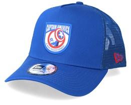Captain America 9Forty Character Blue Trucker - New Era