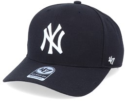 New York Yankees Cold Zone Mvp DP Black/White Adjustable - 47 Brand