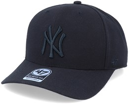 New York Yankees Cold Zone Mvp DP Black/Black Adjustable - 47 Brand