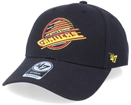 Vancouver Canucks Mvp Vintage Black/Yellow Adjustable - 47 Brand