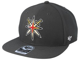 Vegas Golden Knights No Shot 47 Captain Swords Charcoal/Gold Snapback - 47 Brand