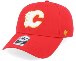 Calgary Flames Mvp Red/White Adjustable - 47 Brand