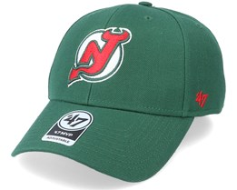 New Jersey Devils Mvp Dark Green/Red Adjustable - 47 Brand