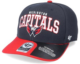 Washington Capitals McCaw Mvp DP Navy/Red Adjustable - 47 Brand