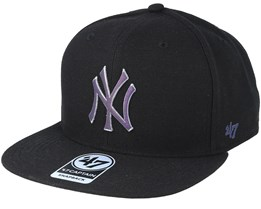 New York Yankees Iridescent 47 Captain Black Snapback - 47 Brand