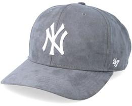 New York Yankees Ultrabasic Strap TT Chacoal/White Adjustable - 47 Brand