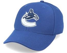 Vancouver Canucks Core Structured Blue Adjustable - Fanatics