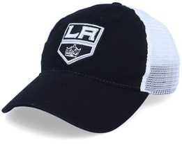 Los Angeles Kings Value Core Unstructured Black/White Trucker - Fanatics