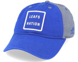 Toronto Maple Leafs Cotton Slouch Blue/Grey Adjustable - Adidas