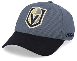 Vegas Golden Knights Coach Grey/Black Flexfit - Adidas