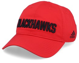 Chicago Blackhawks Coach Red/Black Adjustable - Adidas