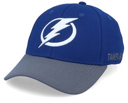 Tampa Bay Lightning Coach Blue/Grey Flexfit - Adidas