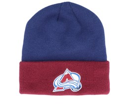 Colorado Avalanche Cuffed Navy/Burgundy Cuff - Adidas