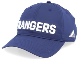 New York Rangers Coach Navy/White Adjustable - Adidas