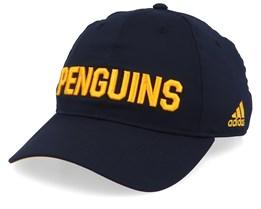 Pittsburgh Penguins Coach Black/Yellow Adjustable - Adidas