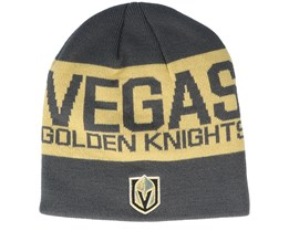 Vegas Golden Knights 19 Grey/Gold Beanie - Adidas