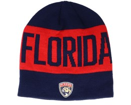 Florida Panthers 19 Navy/Red Beanie - Adidas