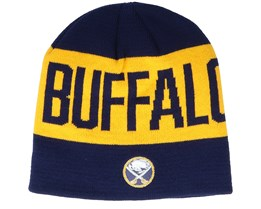Buffalo Sabres 19 Yellow/Navy Beanie - Adidas